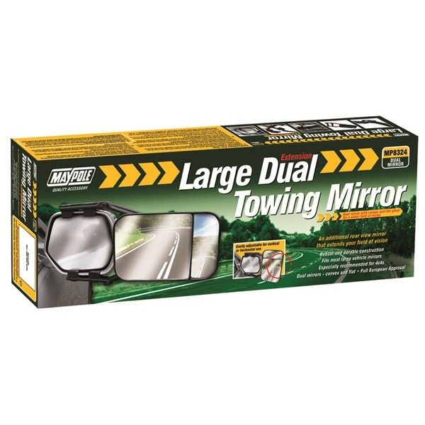 Towing Extension Mirror Dual Glass