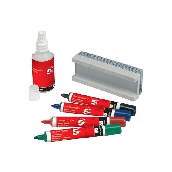 Dry Wipe Starter Kit 6 Piece