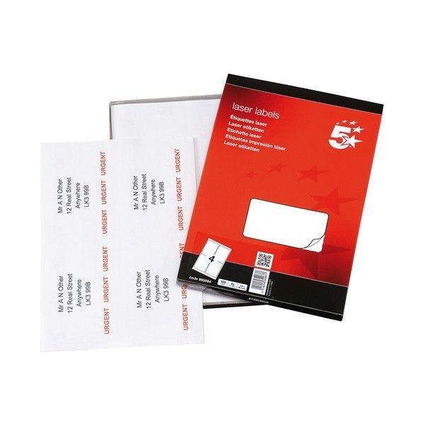 Laser Address Labels 139 X 99Mm Pack Of 400