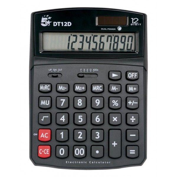 Desktop Calculator 12 Digit Display