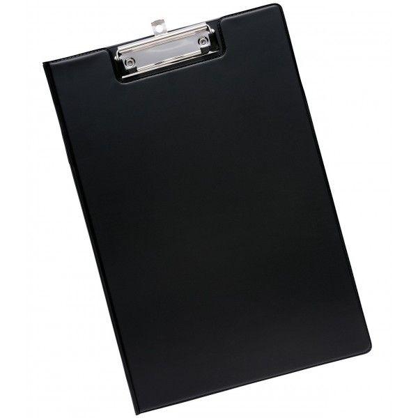 A4 Fold Over Clipboard Black