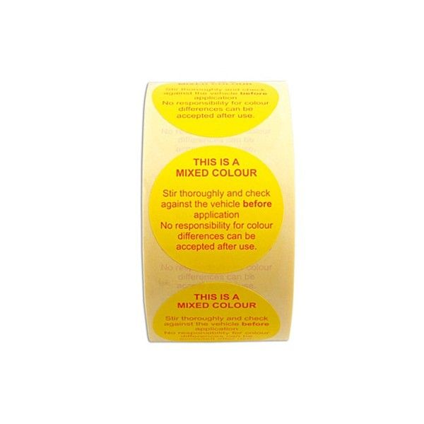 Paint Disc Label Pack Of 1000