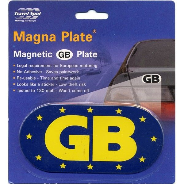 Magnetic Euro Gb Plate