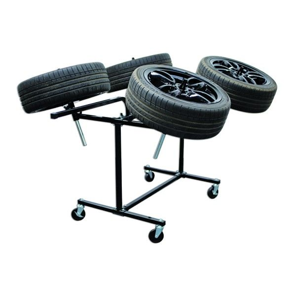 Alloy Wheel Painting Stand Deluxe Heavy Duty