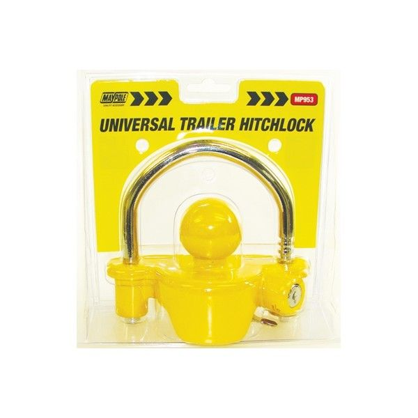 Universal Trailer Hitch Lock