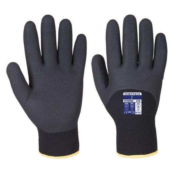 Arctic Winter Gloves Black Large