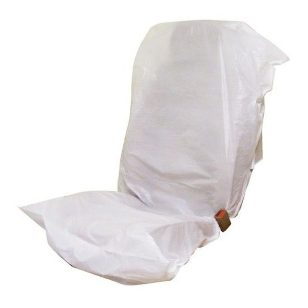 Disposable Seat Covers White Roll Of 500