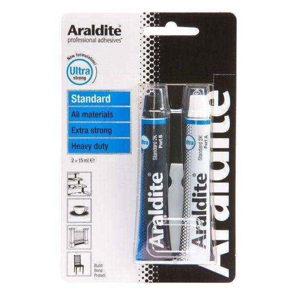 Araldite Standard 2 X 15Ml Tubes