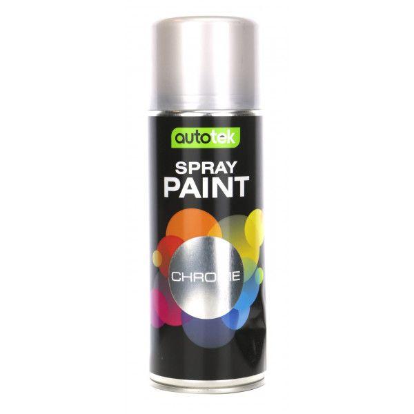 Aerosol Paint Chrome 400Ml