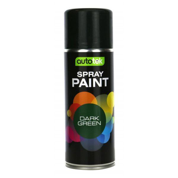 Aerosol Paint Gloss Dark Green 400Ml