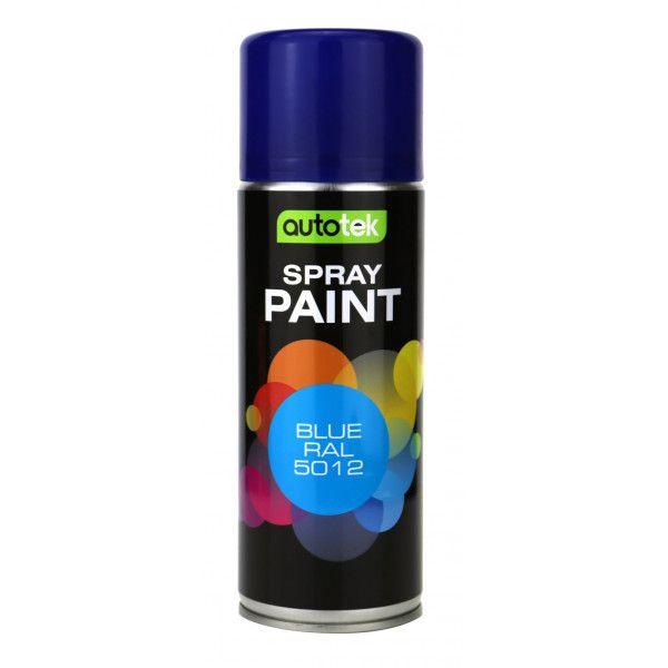 Aerosol Paint Blue Ral 5012 400Ml