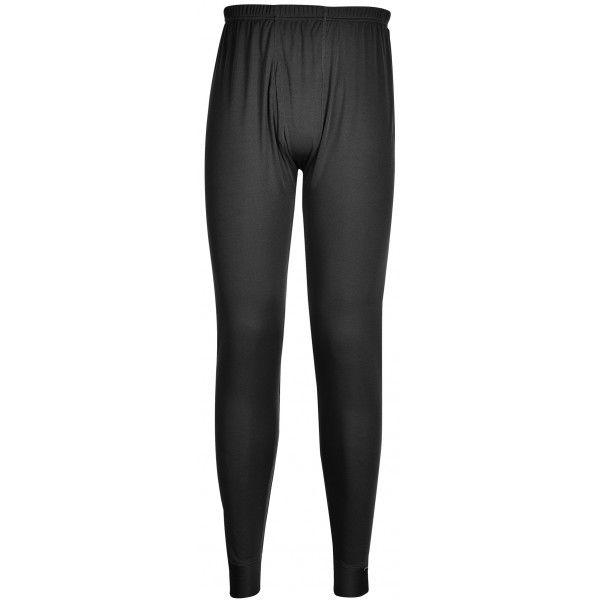 Thermal Base Layer Leggings Black Medium