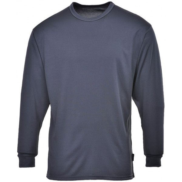 Thermal Base Layer Top Charcoal Large