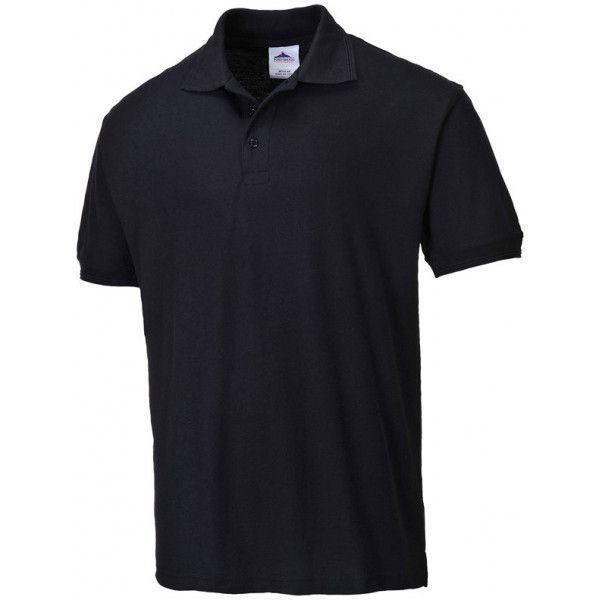 Naples Polo Shirt Black Large