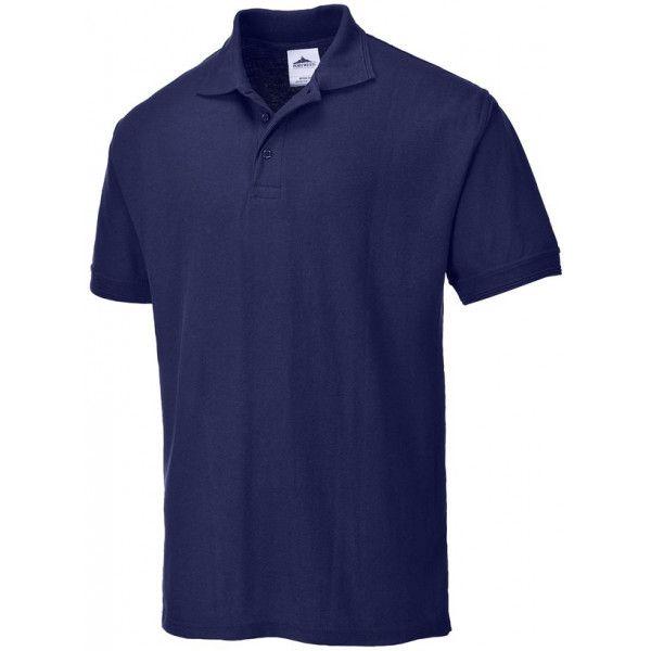 Naples Polo Shirt Navy Large
