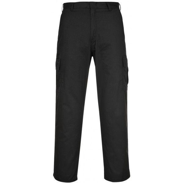 Combat Trousers Black 34In. Waist Regular