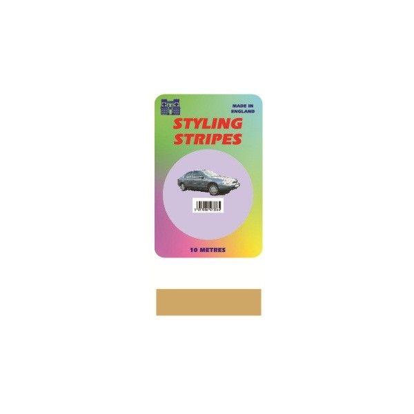 Single Stripe Gold 6Mm 10M Length