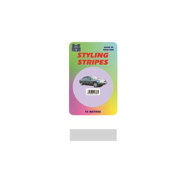 Single Stripe Silver 6Mm 10M Length