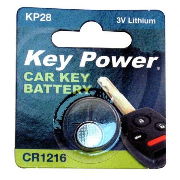 Coin Cell Battery Cr1216 Lithium 3V