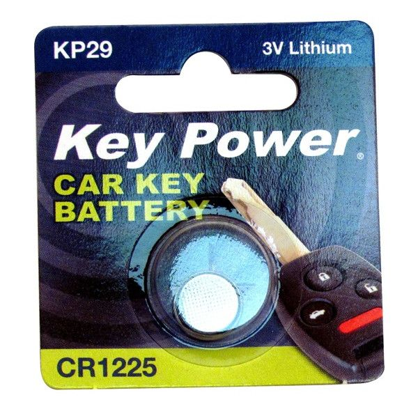 Coin Cell Battery Cr1225 Lithium 3V