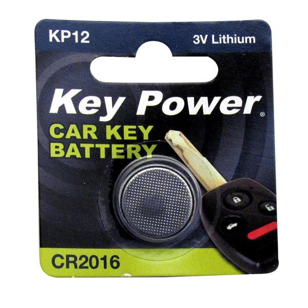 Coin Cell Battery Cr2016 Lithium 3V