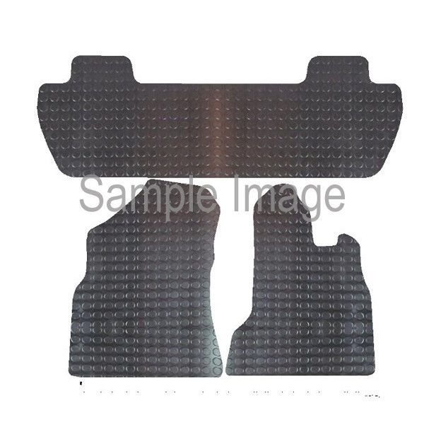 Rubber Tailored Car Mat Berlingo Multispace Partner Multi 2008 Onwards Pattern 1051