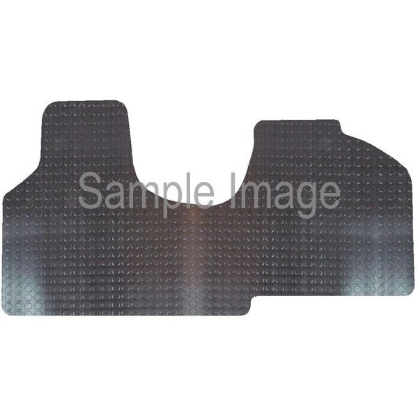 Rubber Tailored Car Mat Citroen Dispatch 2007 Onwards Pattern 2769