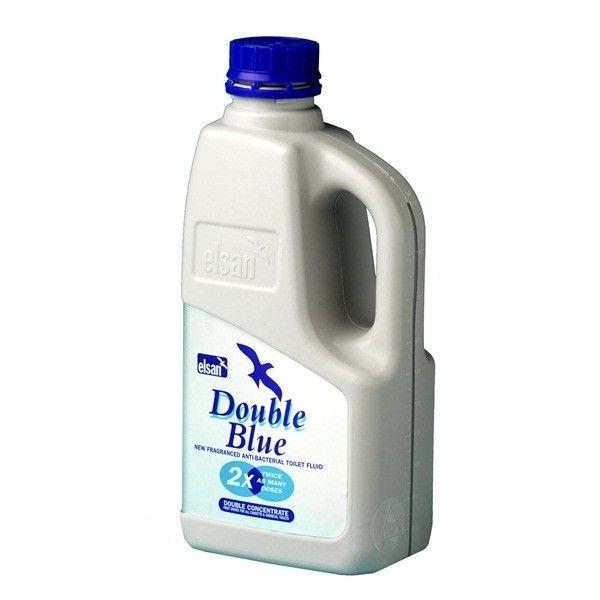 Toilet Fluid Double Blue 1 Litre