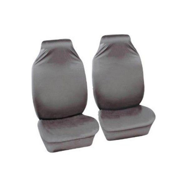 Car Seat Covers Defender Front Pair Grey