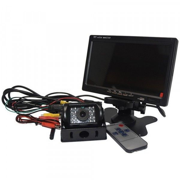 7In. Colour Monitor With Wireless Camera