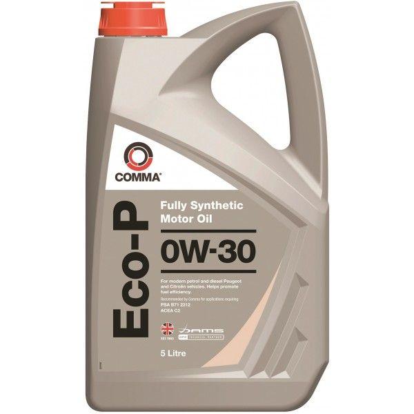 Ecop Engine Oil 0W30 C2 5 Litre