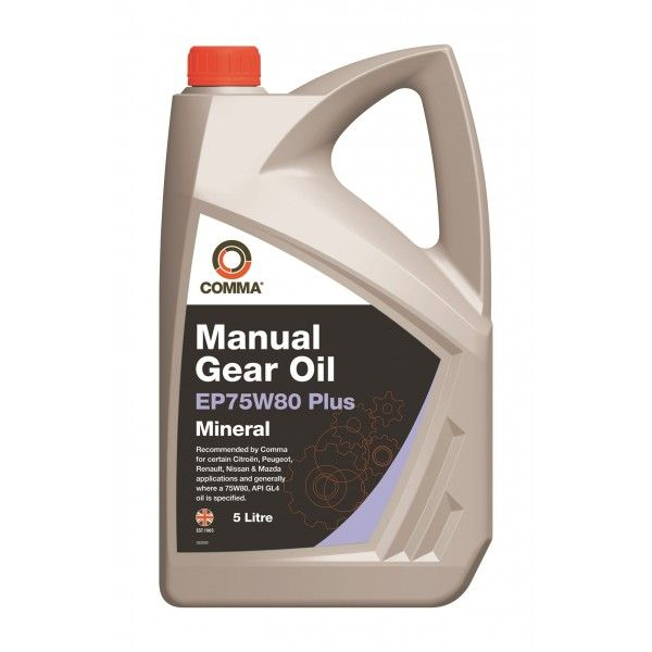 Gear Oil Ep75w80 Plus 5 Litre