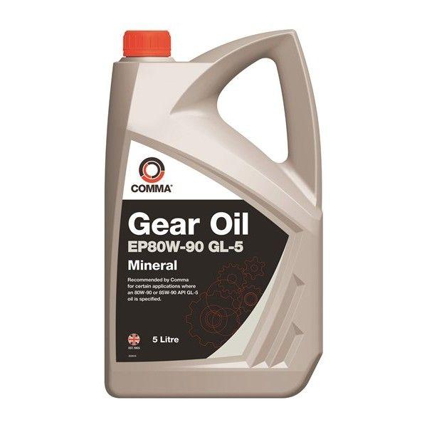 Ep80w90 Gl5 Gear Oil 5 Litre