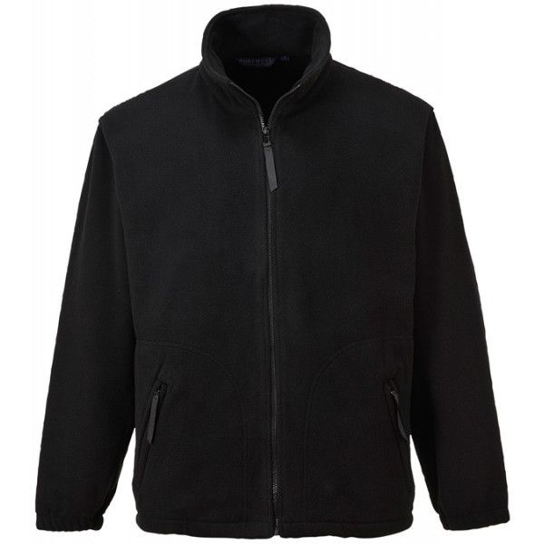 Argyll Heavy Fleece Black X Large