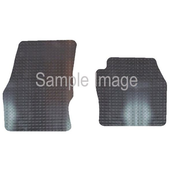 Rubber Tailored? Car Mat Ford Transit Connect With 4 Clips 2016 Onwards Pattern 3884