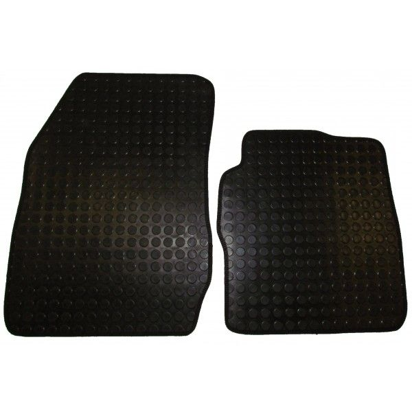 Rubber Tailored Car Mat Ford Transit Courier 2014 Onwards Pattern 3442