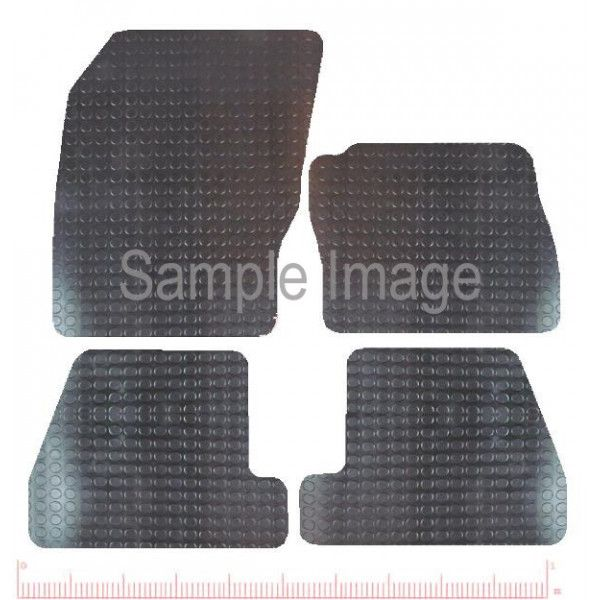 Rubber Tailored Car Mat Ford Focus Mar 2015 Onwards Pattern 3546
