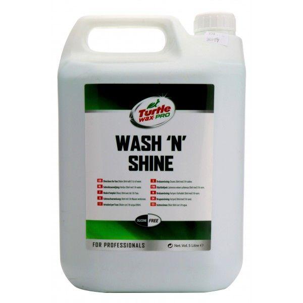 Wash And Shine Shampoo 5 Litre