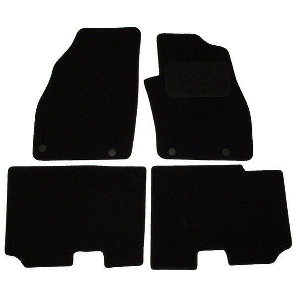 Standard Tailored Car Mat Fiat Punto With 4 Clips 2012 Onwards Pattern 3309