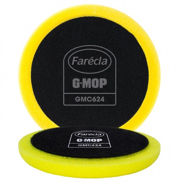 G Mop 6In. Flexible Yellow Compounding Foam Pack Of 2