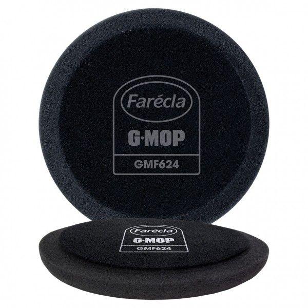 G Mop 6In. Flexible Black Finishing Foam Pack Of 2