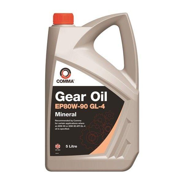 Ep80w90 Gl4 Gear Oil 5 Litre