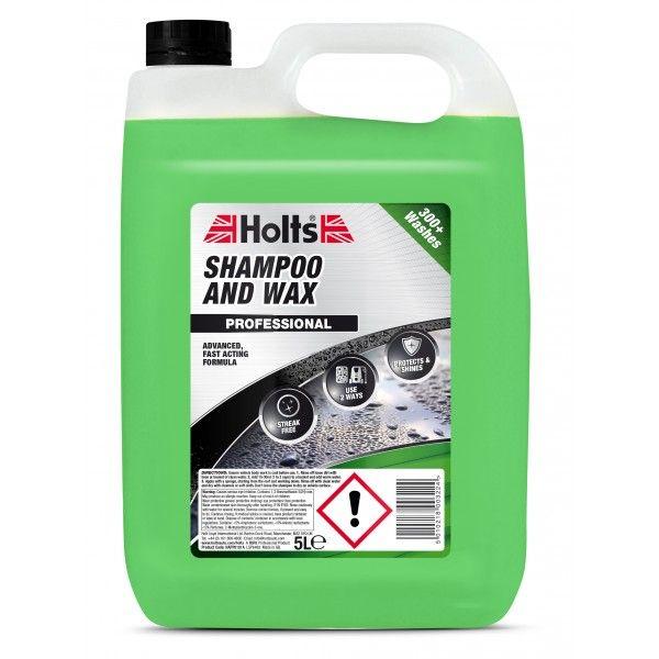 Holts Shampoo Wax 5 Litre
