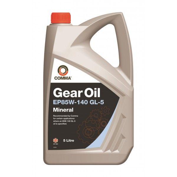 Gear Oil Ep85w140 5 Litre