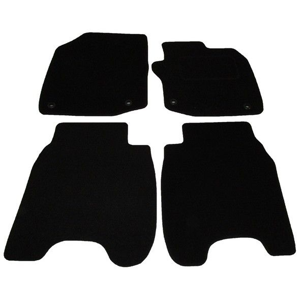 Standard Tailored Car Mat Honda Civic With Clips 2012 Onwards Pattern 2558