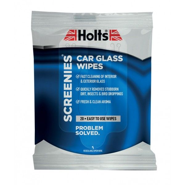 Screenies Car Glass Wipes Pack Of 20