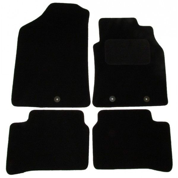 Standard Tailored Car Mat Hyundai I10 With 3 Clips 2014 Onwards Pattern 3319