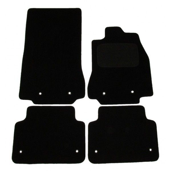 Standard Tailored Car Mat Jaguar Xf With 8 Clips 2014 Onwards Pattern 3312