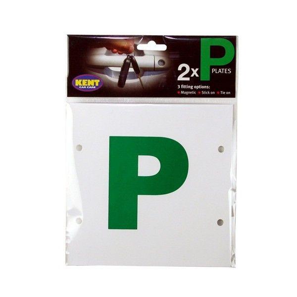 P Plates Multifix Pair