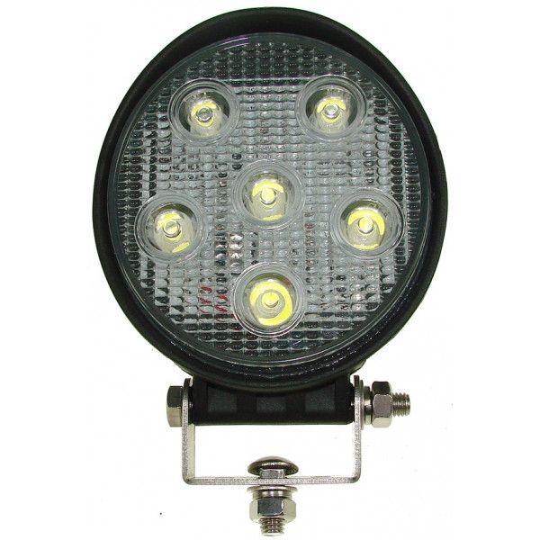1224V Spot Led Work Lamp 6 X 3W